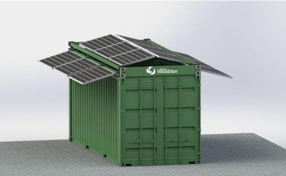 Cadre.Container.Photovoltaïque
